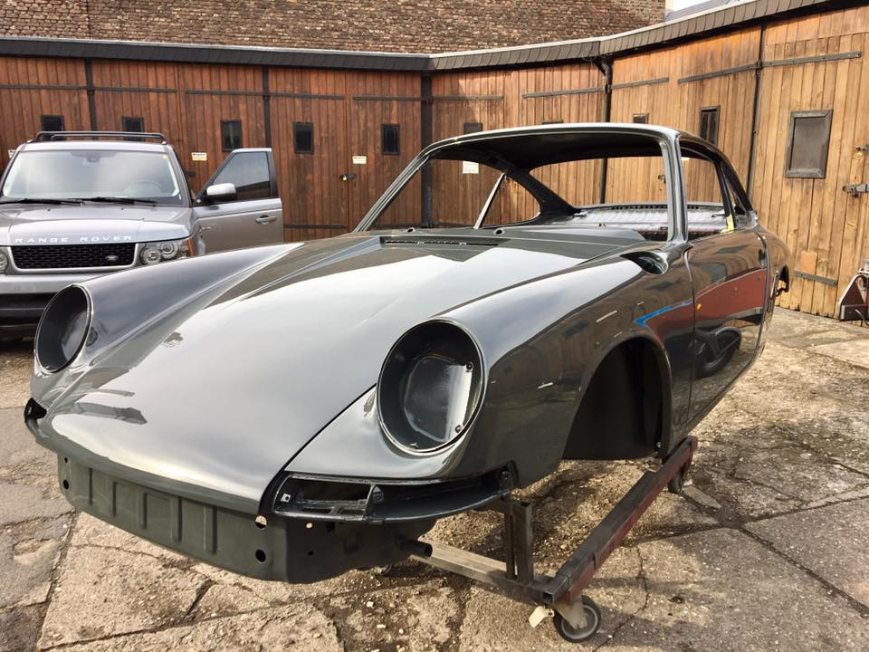 Porsche 912 Smallframe Chrommodell 1965